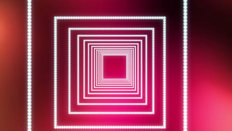 Square particles red background motion Animation