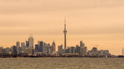 Toronto, Canada - Timelapse - The Skyline from Humber Bay Park Footage