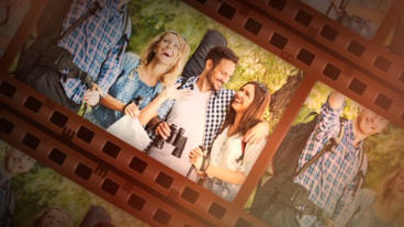 Filmstrip After Effects Templates