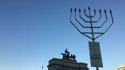 Largest Menorah at Grand Army Plaza 画像