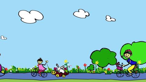 Kids Art (5) CG動画素材