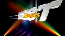 Best Movies. Light of spotlights. Confetti. Title, Name, Headline Footage