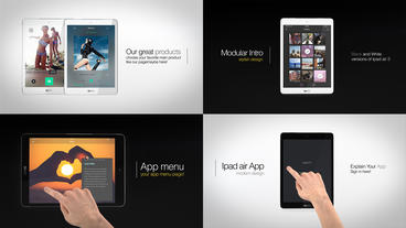 Ultimate Ipad Presentation Kit After Effects Template