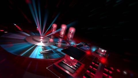 CD DJ 4K 01 Vj Loop Animation