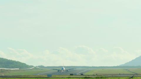 Airbus 320 braking Live Action