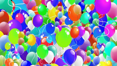 Children Transition - Balloons Alpha HD Animation