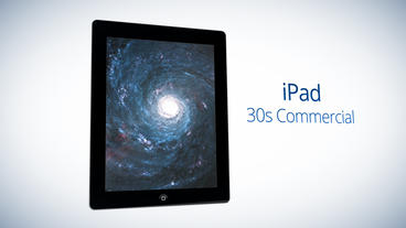 iPad 30s Commercial - Apple Motion and Final Cut Pro X Template Apple Motion Template