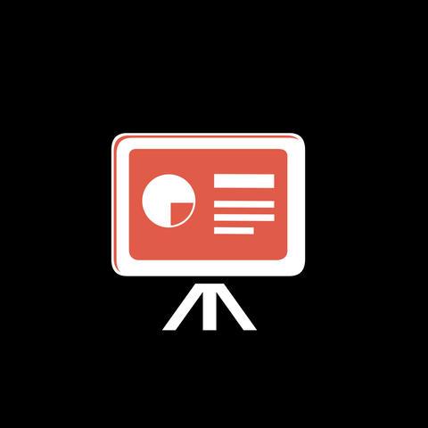 Blackboard Flat Icon GIF