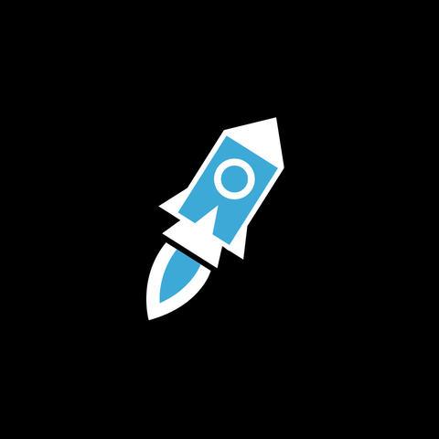Rocket Flat Icon Animation