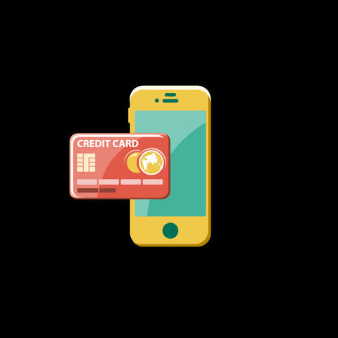 Purchase By Phone Flat Icon 圖片