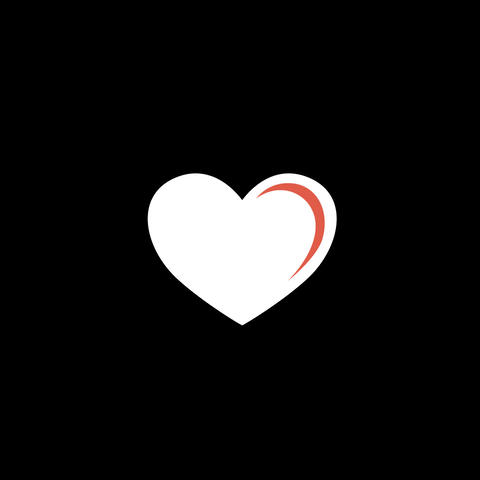 Heart Flat Icon Animation