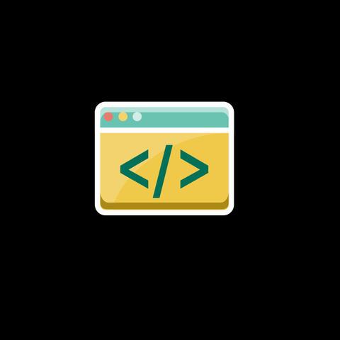 Web Flat Icon 画像
