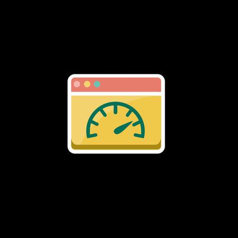Web Flat Icon Animation