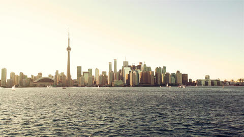 Toronto, Canada, Video - Skyline daytime Footage