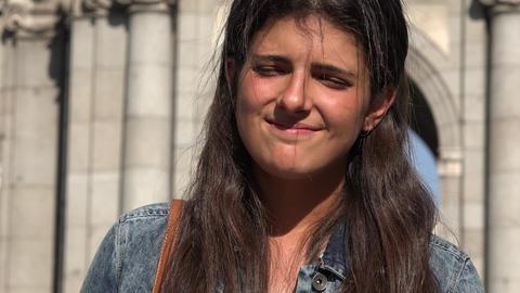 Happy Woman Spanish Female Live Action