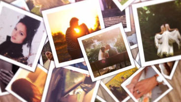 Polaroid Love After Effects Project