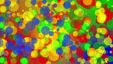 Summer Colored Dots Background Animation