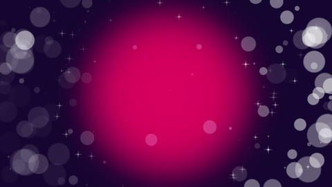 Violet Background Particles Loop Animation