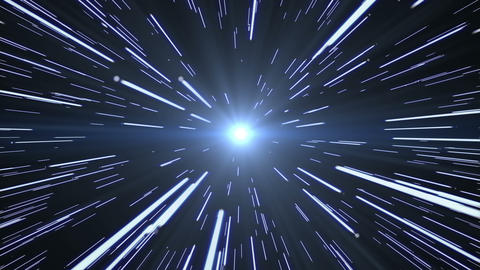 Stars Hyperspace Animation
