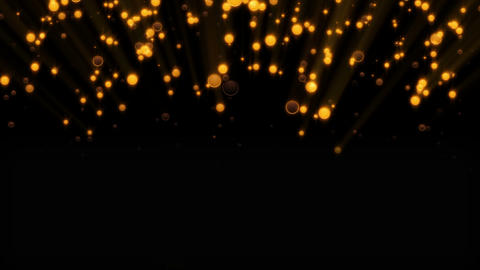 Abstract background with glittering particles. Seamless loop Animation