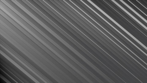 Abstract steel lines. Technology background. 3D rendered Animation