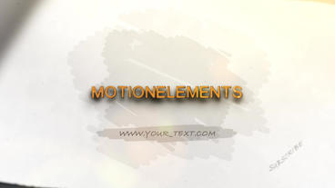 Pencil Drawing Logo After Effects Project