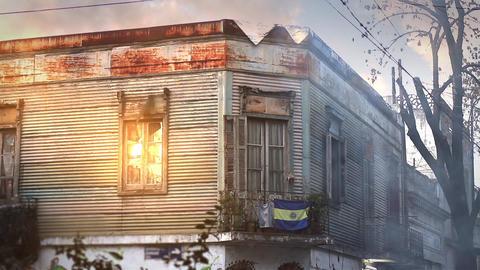 Conventillo In La Boca, Buenos Aires Footage