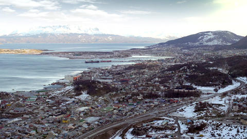 Ushuaia, The World's Southernmost City Footage