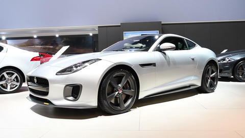 Jaguar F-Type 400 Sport coupe sports car Footage