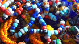 rarity jewelry, women's necklace brooch Footage