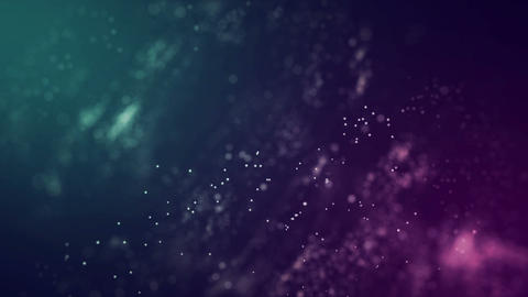 Abstract particle Animation