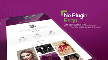 Website Showcase After Effects Projekt