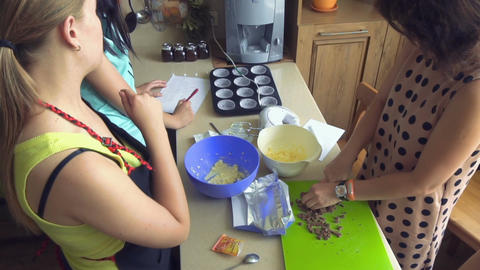 Master class of cooking Footage