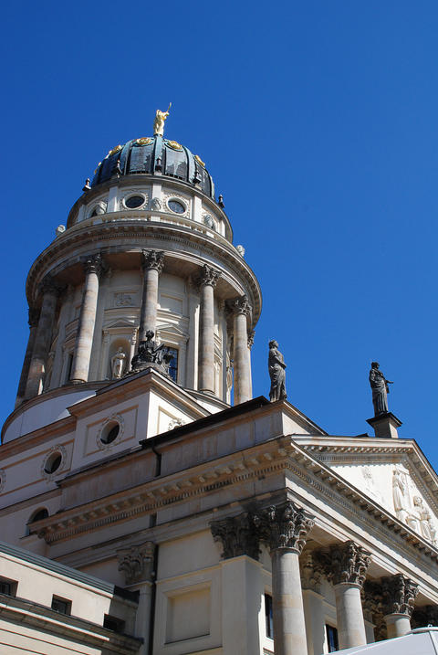 Gendarmenmarkt (Berlin, Germany): The French Church, in German: Franzoesischer D フォト