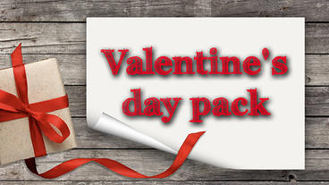 Valentines day pack Apple-Motion-Projekt