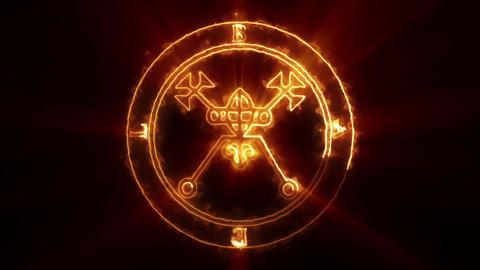 Bael Occult Symbol Loop Animation