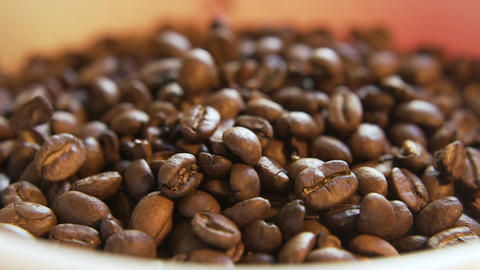 Coffee Beans Dropping Live Action