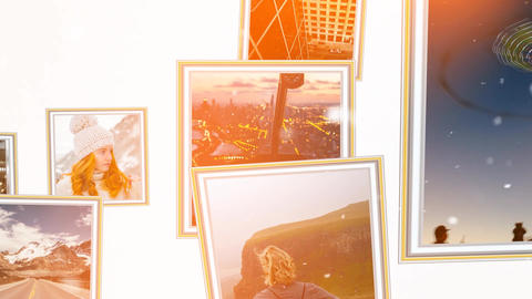 Smart Photo Frames After Effects Template