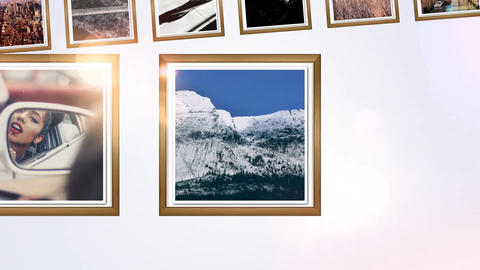 My Holidays photo gallery After Effects Template