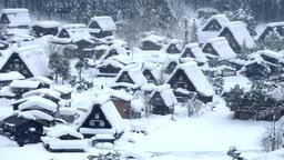 Snow Shirakawa-go DSCF7715 1 Footage