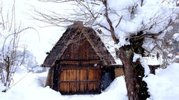 Snow Shirakawa-go DSCF8610 1 Footage