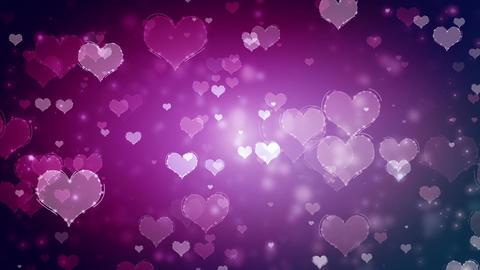 Hearts Background (3) Animation