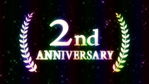 2nd anniversary CG動画