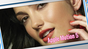 Photo Presentation: Template for Apple Motion and Final Cut Pro X Apple Motionテンプレート