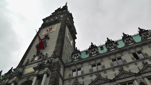 Hamburg City Hall 05 Stock Video Footage