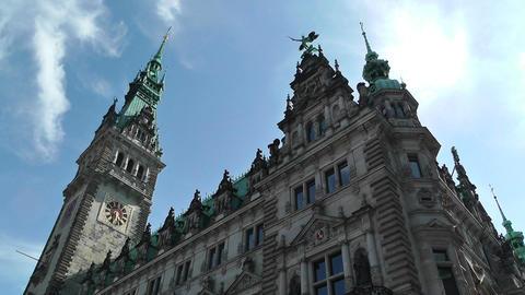 Hamburg City Hall 13 Footage