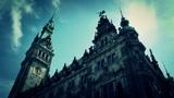 Hamburg City Hall 19 stylized Footage