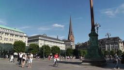Hamburg Downtown 10 Footage