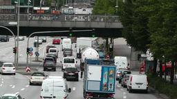 Hamburg Street 03 traffic Footage