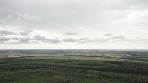 Plain in Eastern Europe 02 Stock Video Footage